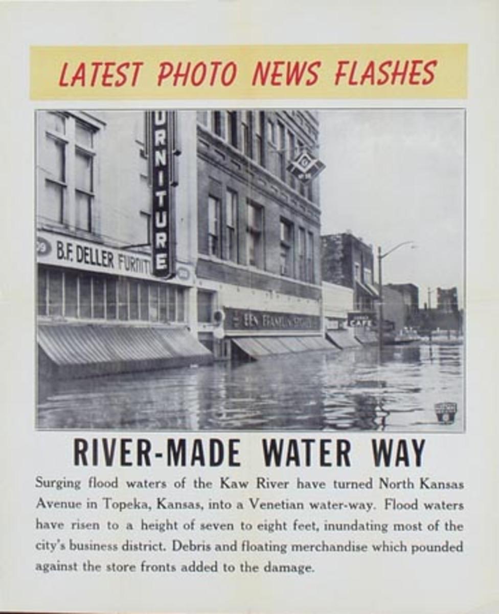 Latest Photo News Flash Original Poster River Made Water Way