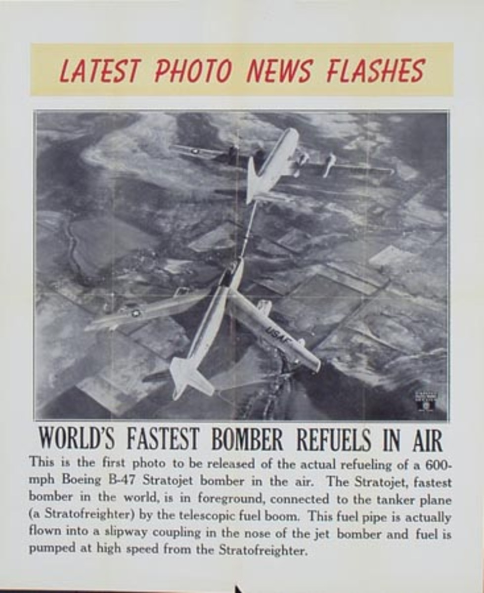 Latest Photo News Flash Original Poster World's Fastest Bomber Refuels in Air