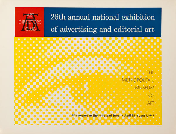26th Annuam National Exhibition of Advertising and Editorial Art, Original Art Directors Club Poster