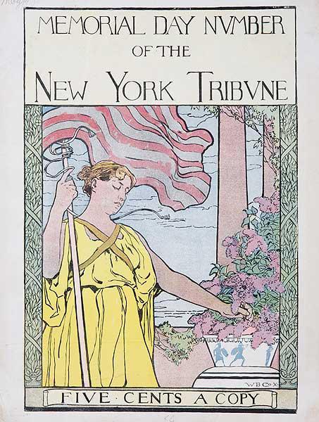 New York Tribune Memorial Day Number Original American Literary Magazine