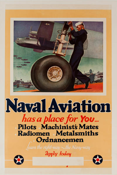 Naval Aviation has a place for You... Original American WWII Recruiting Poster