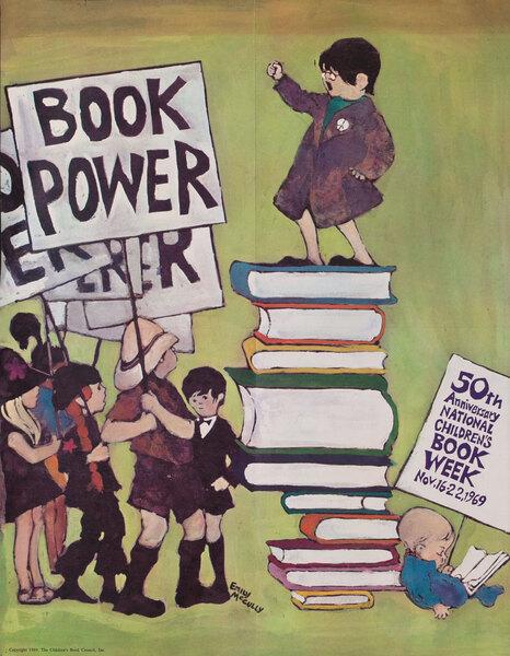 Book Power 1969 Children's Book Council Book Week Poster