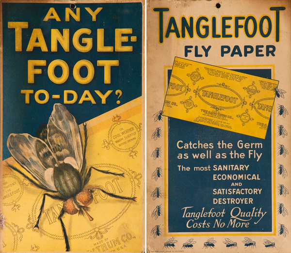 Any Tanglefoot Today?, Fly Paper Original American Advertising Card Poster