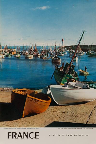France, Ile d'Oleron, Original French Travel Poster
