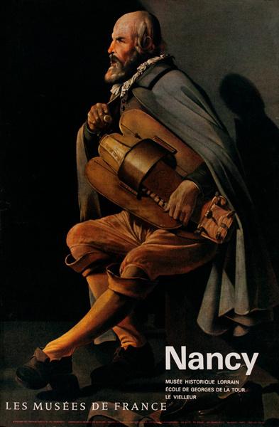 Nancy, Les Musees De France, Original French Travel Poster