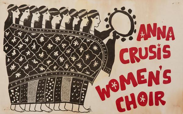 Anna Crusis Women's Choir Original American Poster