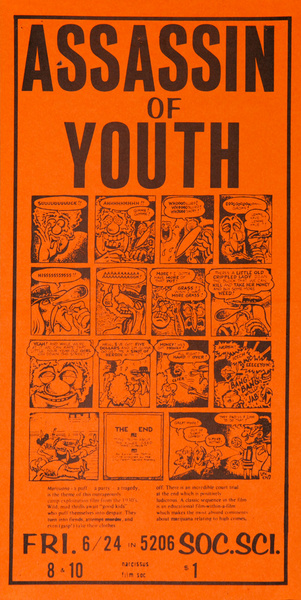 Assassin of Youth Original American Concert Poster