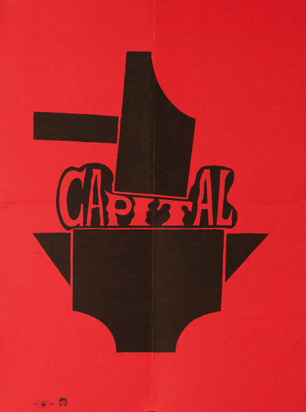 Capital Original American Protest Poster, Hammer and Anvil
