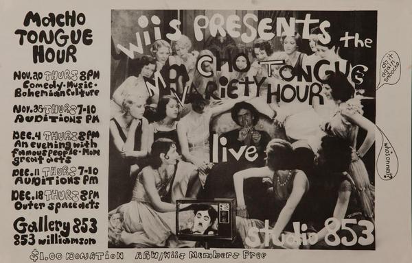 Macho Tongue Hour Original College Variety Show Poster