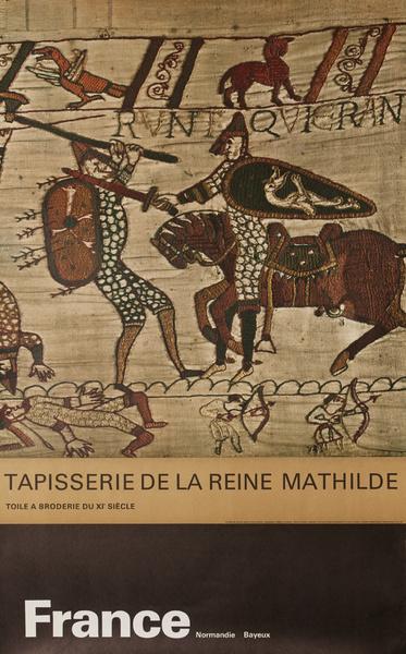 France, Tapisserie de la Reine Mathilde, Original French Travel Poster