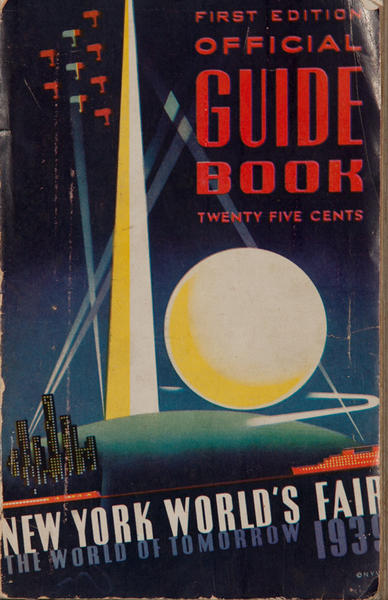 First Edition Official Guide Book New York World's Fair 1939