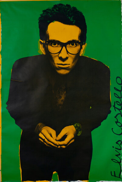 Elvis Costello, My Aim Is True Original Rock and Roll Poster
