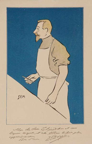 Original French Print,  Surgeon or Printmaker?