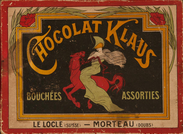 Chocolate Klaus, Original Cappiello Candy Box