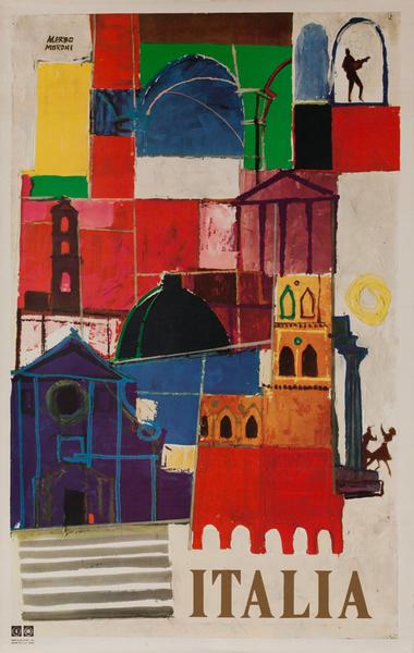 Italia, Original Italian Travel Poster