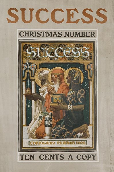 Success Christmas Number Original American Literary Poster