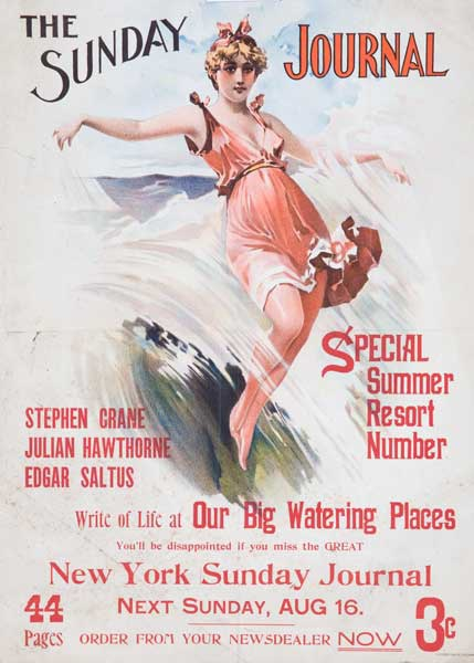 The Sunday Journal, Special Resort Number Original American Literary Poster