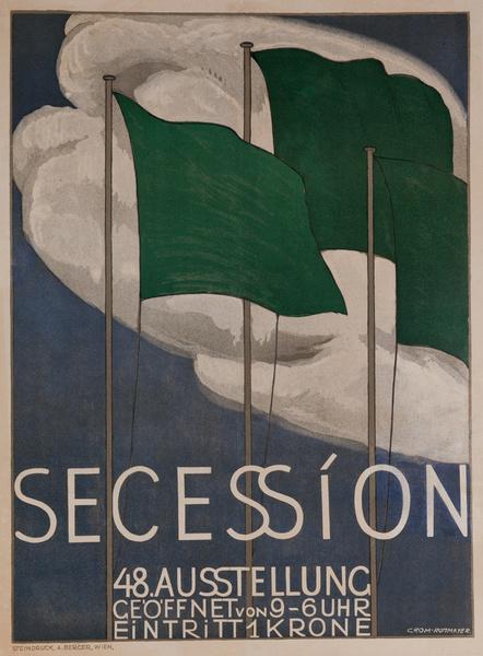 Original Vienna (Wein) Secession Poster 1917