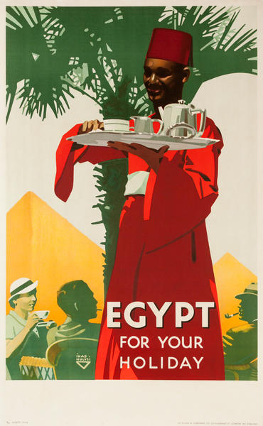 Egypt for your Holiday, Original Travel Poster