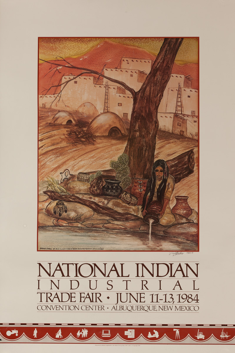National Indian Industrial Trade Fair Poster