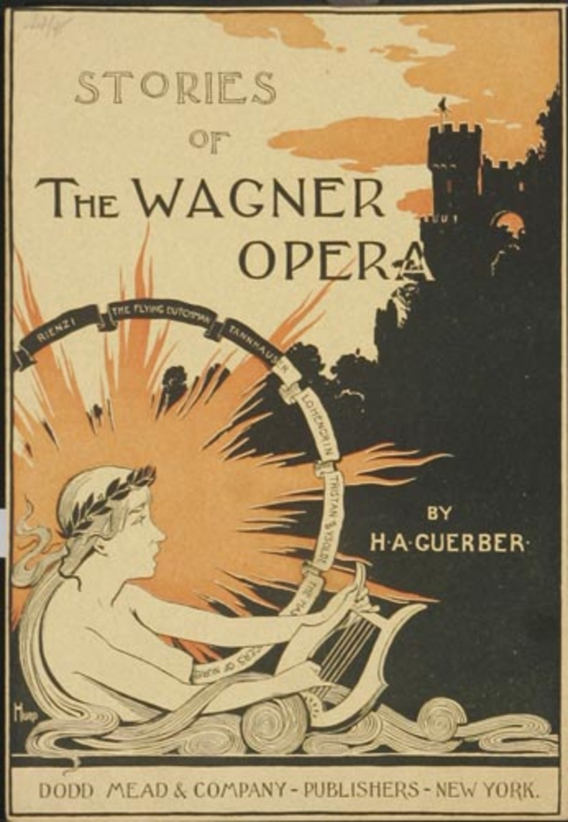 The Stories of Wagner Opera Dodd Mead and Company Original American Literary Poster