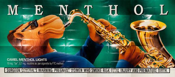Joe Camel Menthol, Original American Advertising Billboard