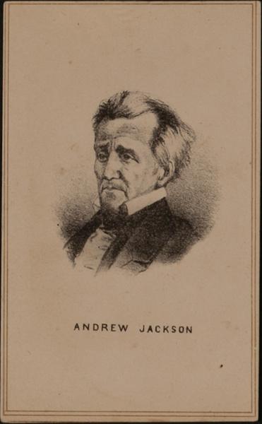 Andrew Jackson CDV