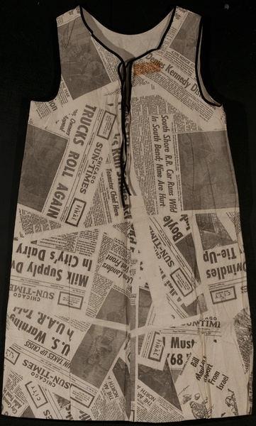 Chicago Sun Times Paper Dress