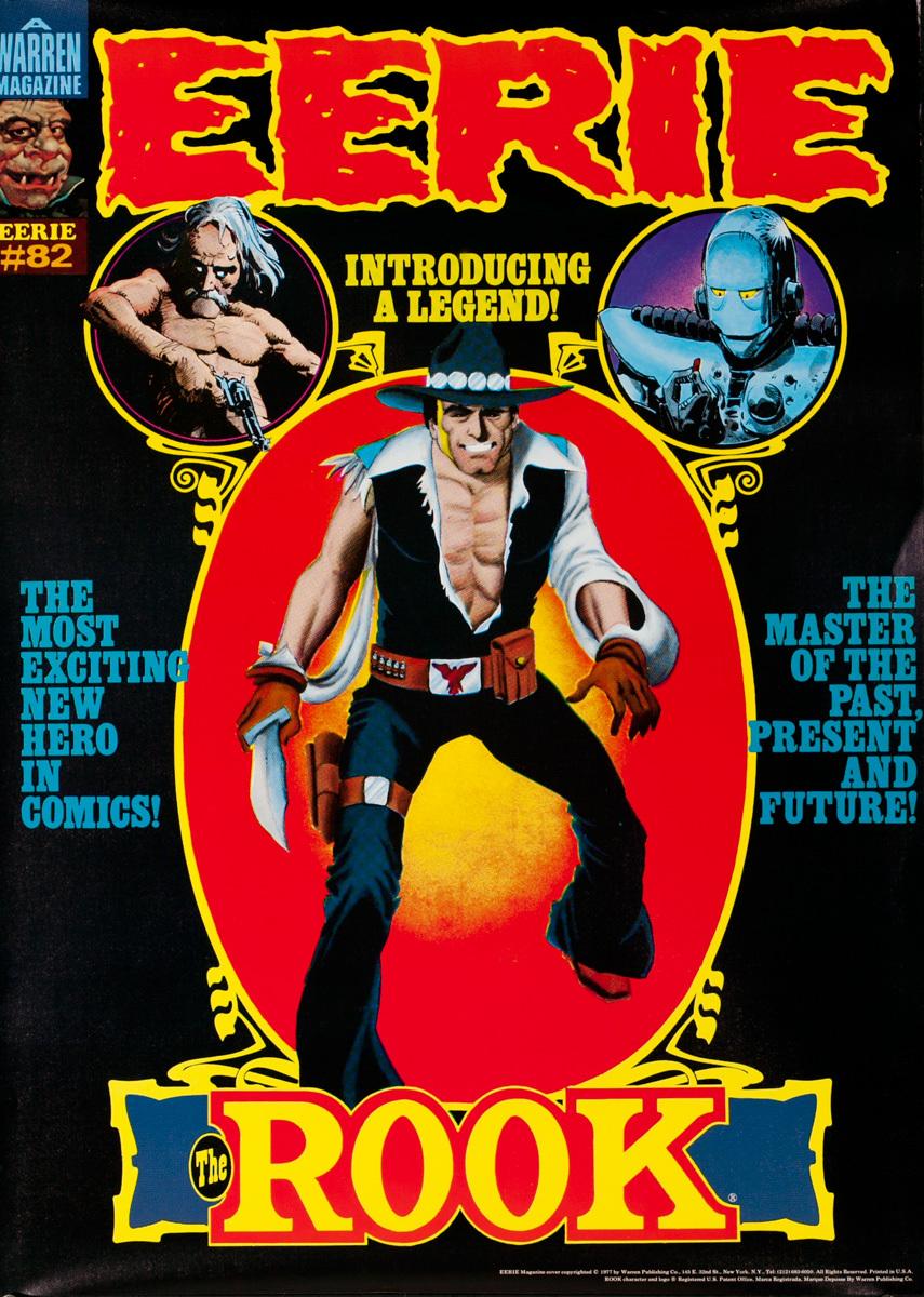 Eerie Comics Original Advertising Poster, The Rook
