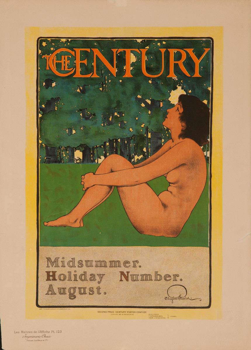 The Century Midsummer Holiday Number. August Original Les Maitre de L'Affiches