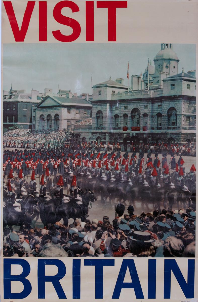 Visit Britain, Original British Travel Poster, Parade Photo