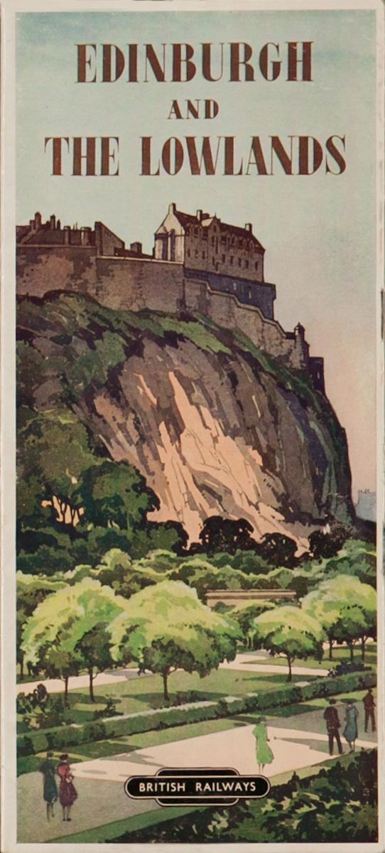 Edinburg and the Lowlands, Original Scottish Travel Brochure