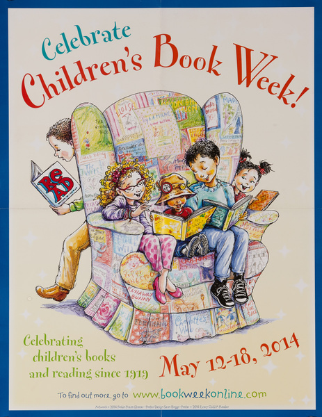 Children's Book Week Original 2014 Poster