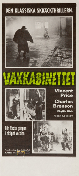 House of Wax Original Norwegian Movie Poster