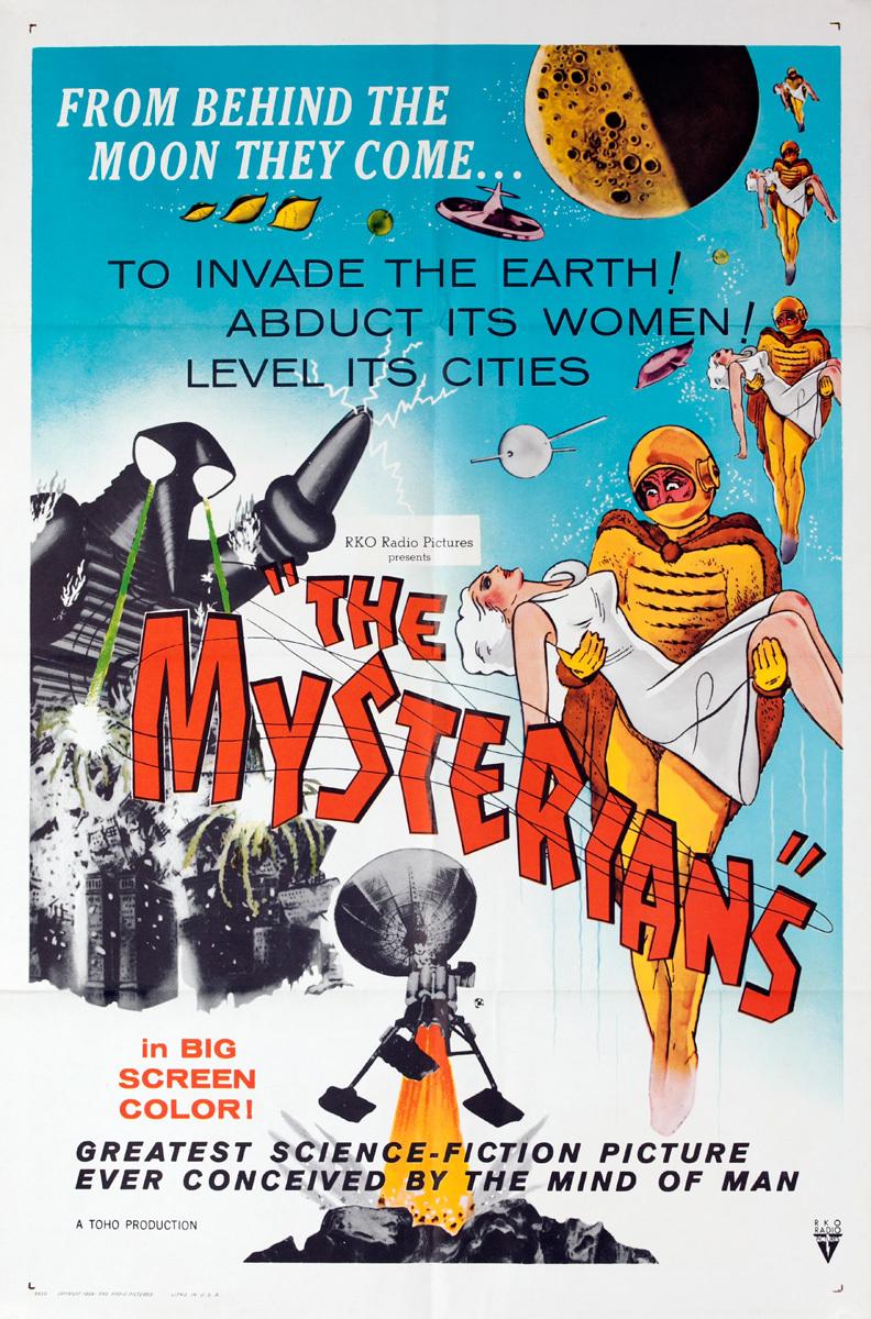 The Mysterians, Original Sci Fi Movie Poster