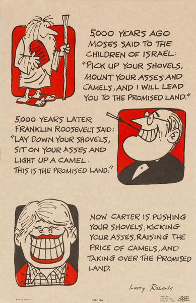 """Original 1970s Comic """"Good Humor"""" Poster, 5000 years ago..."""