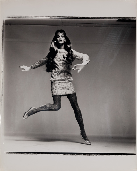 Original Richard Avedon Work Print, Jean Shrimpton