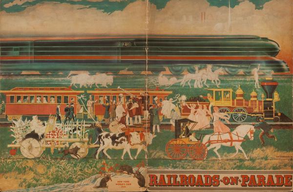 Railroads on Parade Original 1939 New York World's Fair