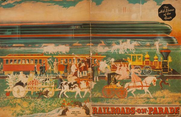 Railroads on Parade Original 1940 New York World's Fair