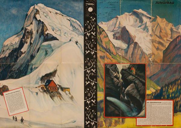Jungfrau, Original Swiss Travel Brochure