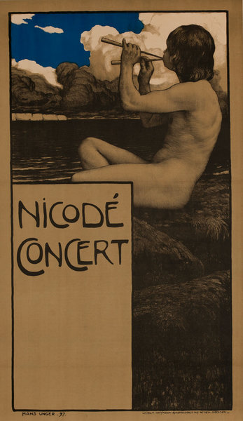 Original Nicode Concert Poster