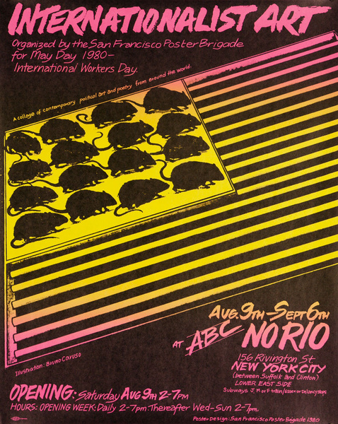 International Art Show, Organized By The San Francisco Poster Brigade For May DAy