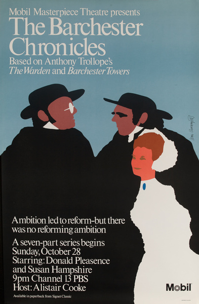 Mobil Masterpiece Theatre, The Barchester Chronicles, Original TV Poster