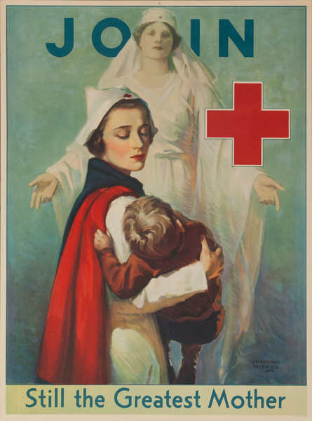 Join, Still the Greatest Mother, Original American Red Cross Poster