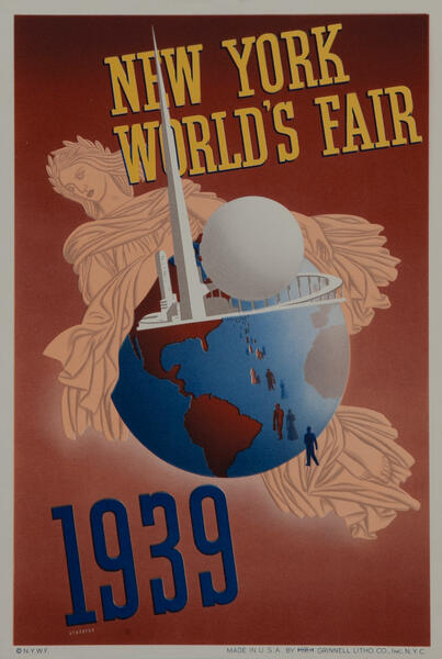 1939 World's Fair Poster Atherton