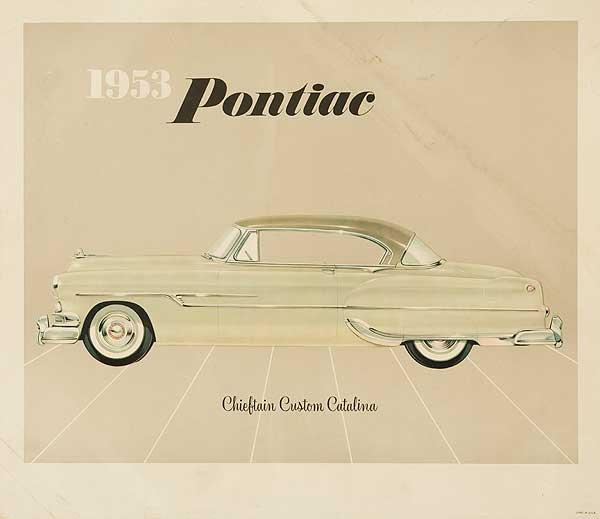 1953 Pontiac Chieftan Custom catalina