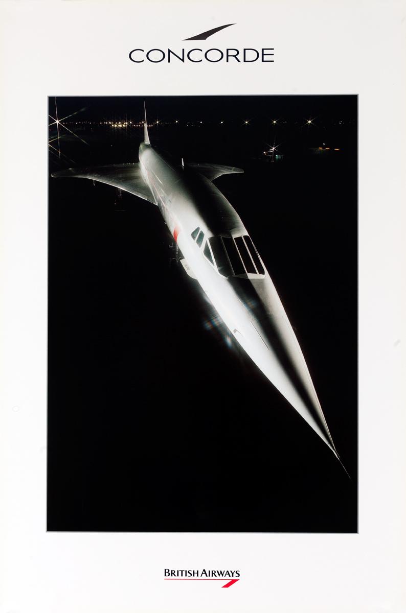 British Airways Concorde, nose