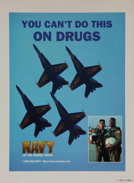 You Can't Do This On Drugs, Navy, Let teh Journey Begin