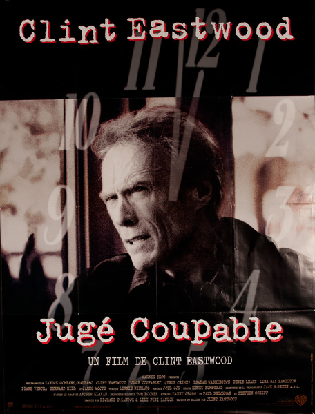 True Crime, Original French Release FIlm Poster Juge Coupable