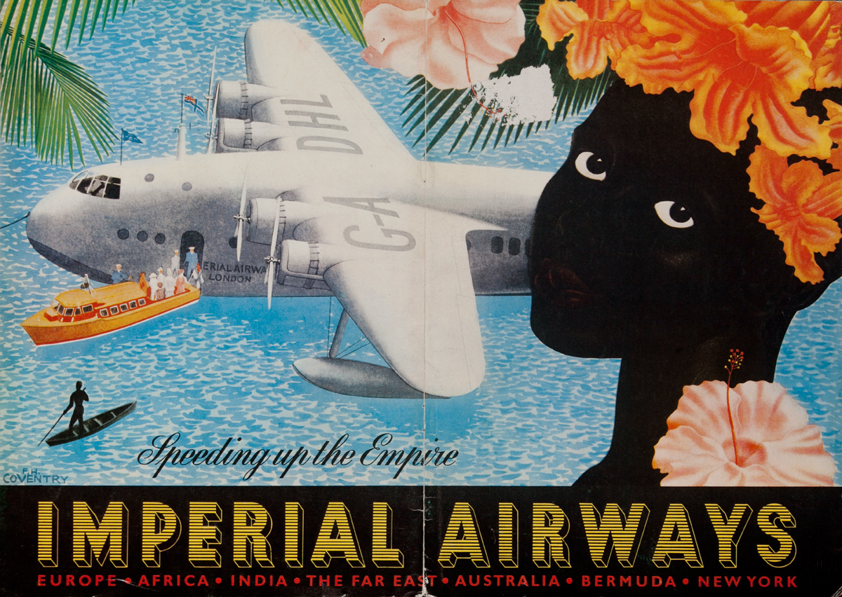 Imperial Airways Speeding up The Empire, Europe Africa, The Far East, Australia, Bermuda New York